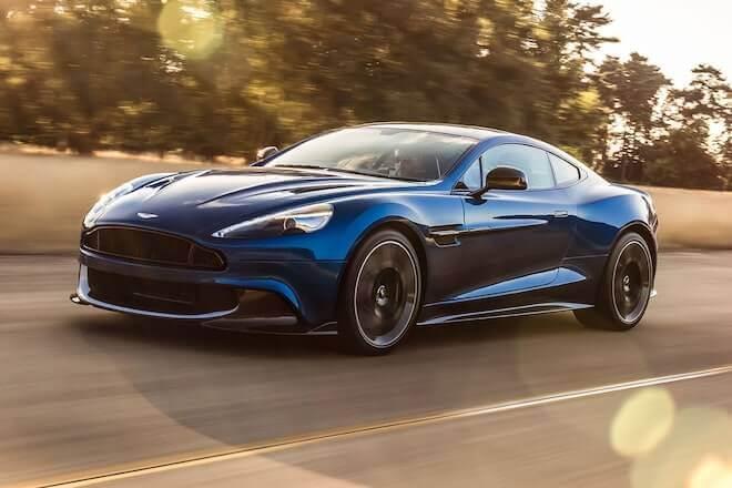 Aston Martin Vanquish wynajem samochodów warszawa 5