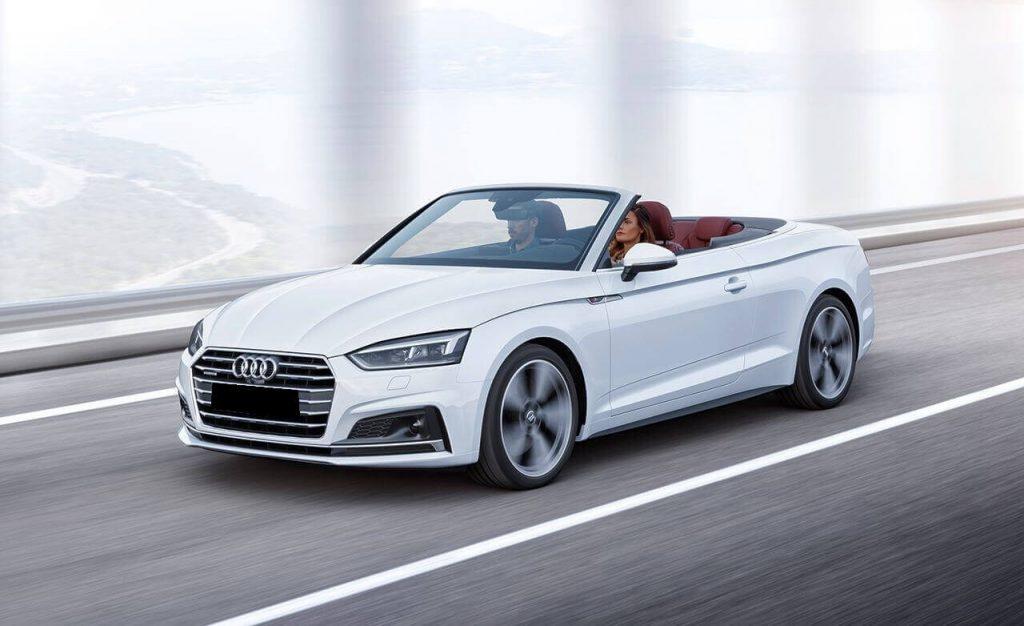 Audi A5 cabrio wynajem samochodów warszawa 2