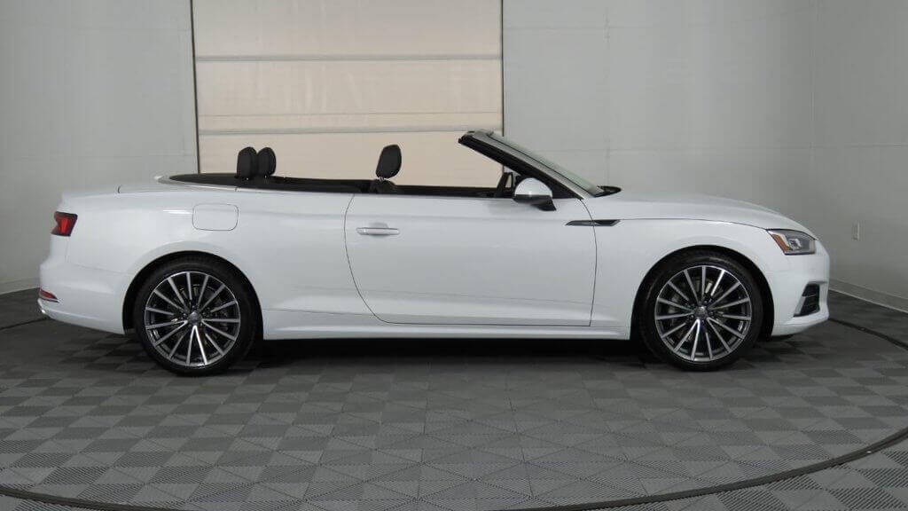 Audi A5 cabrio wynajem samochodów warszawa 3