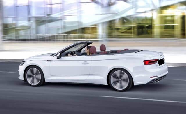 Audi A5 cabrio wynajem samochodów warszawa 4