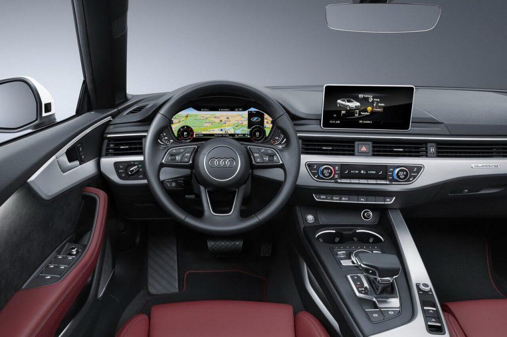 Audi A5 cabrio wynajem samochodów warszawa 6