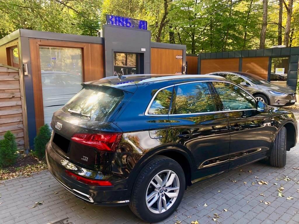 Audi Q5 wynajem samochodów warszawa 2