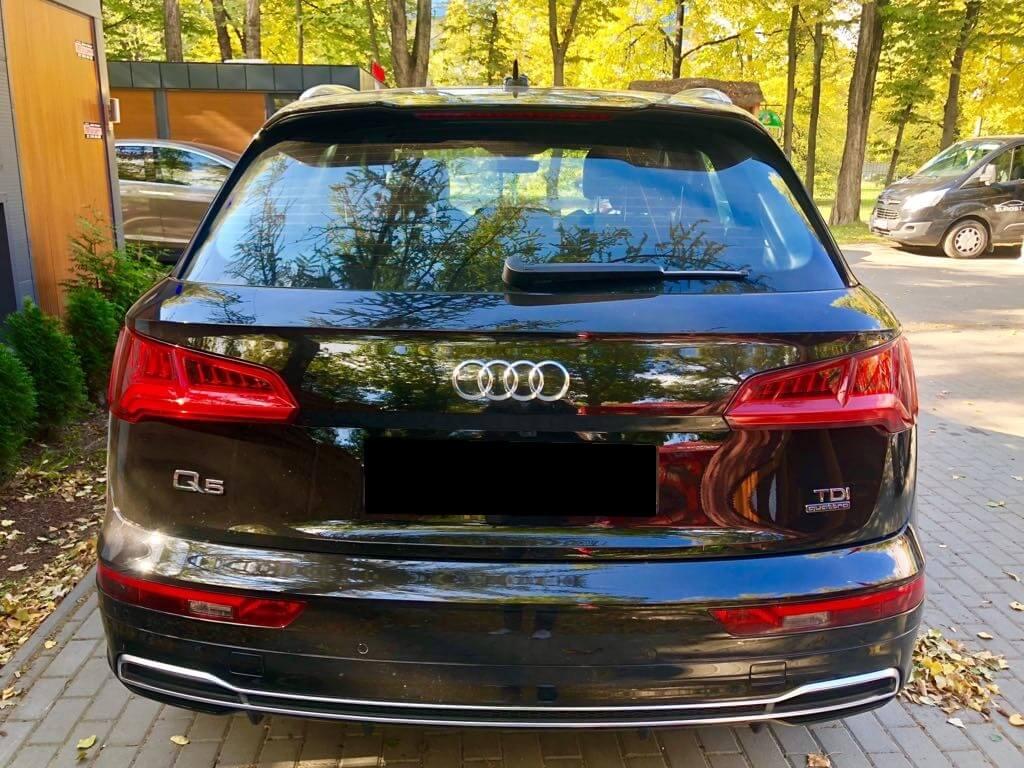 Audi Q5 wynajem samochodów warszawa 3