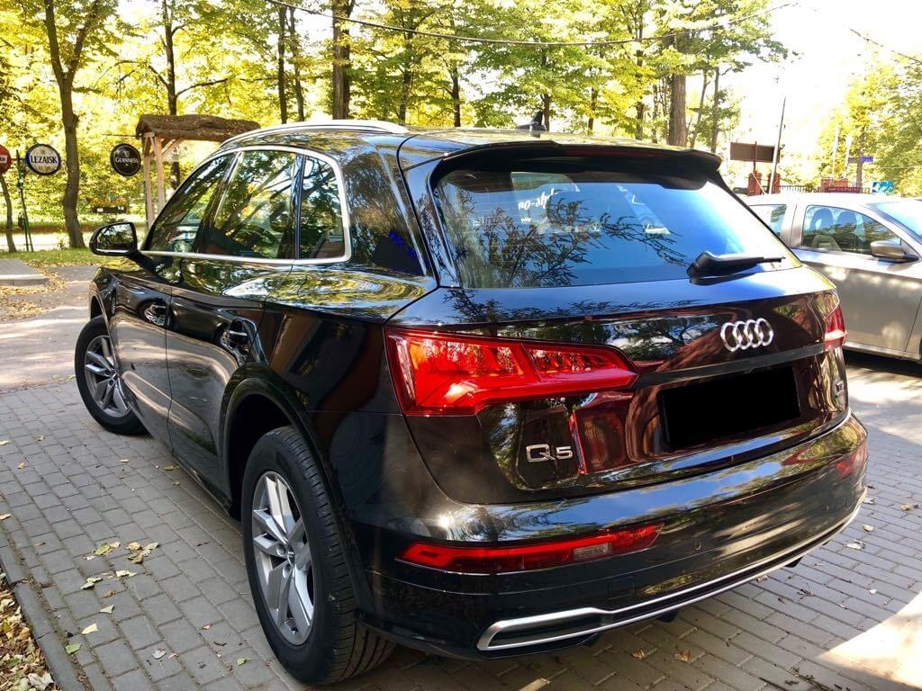 Audi Q5 wynajem samochodów warszawa 4