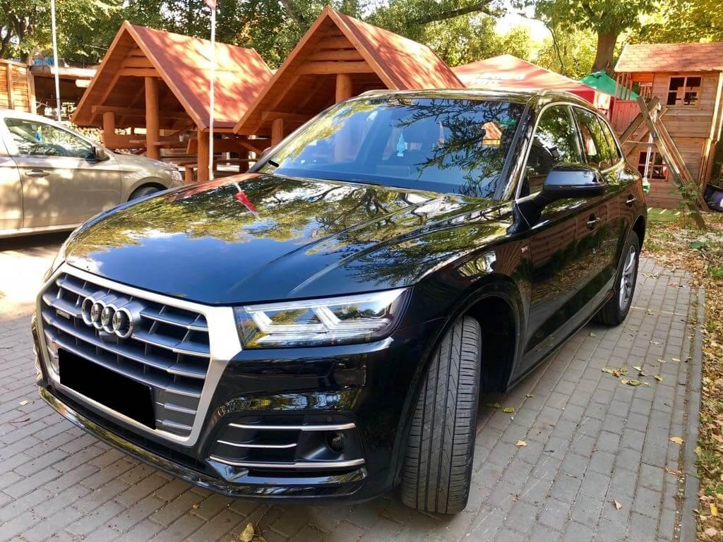 Audi Q5 wynajem samochodów warszawa 5
