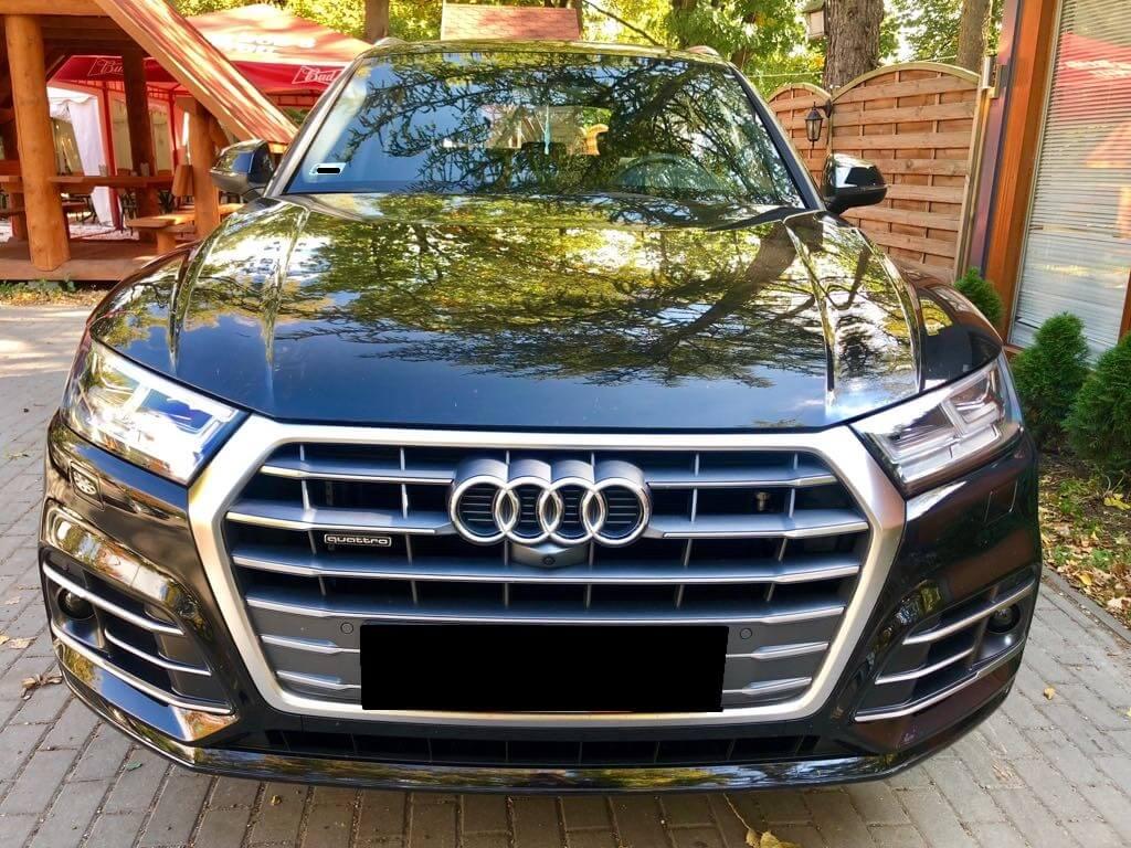 Audi Q5 wynajem samochodów warszawa 6
