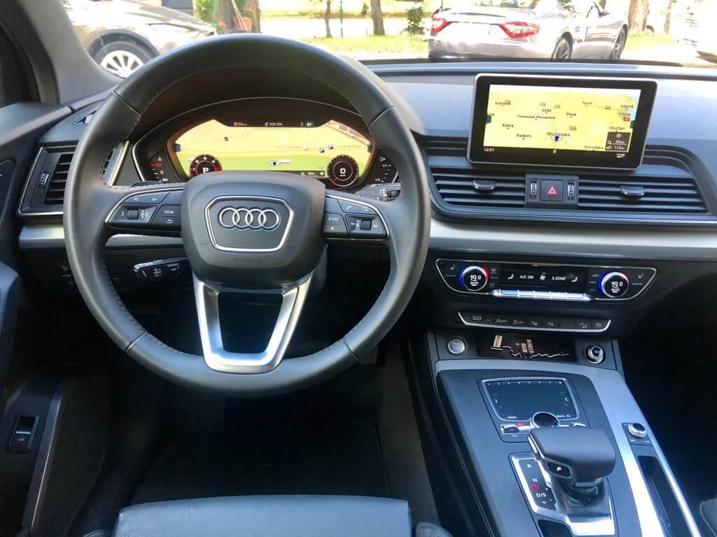Audi Q5 wynajem samochodów warszawa 8