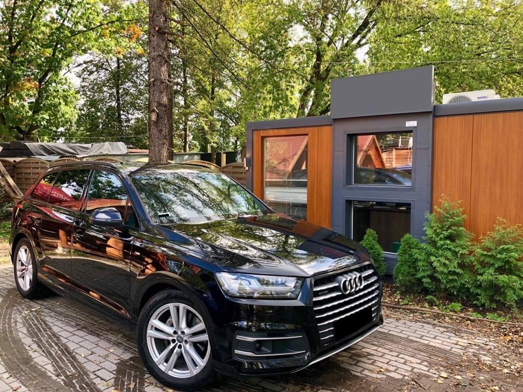 Audi Q7 wynajem samochodów warszawa