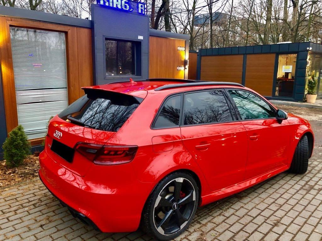 Audi RS3 wynajem samochodów warszawa 2
