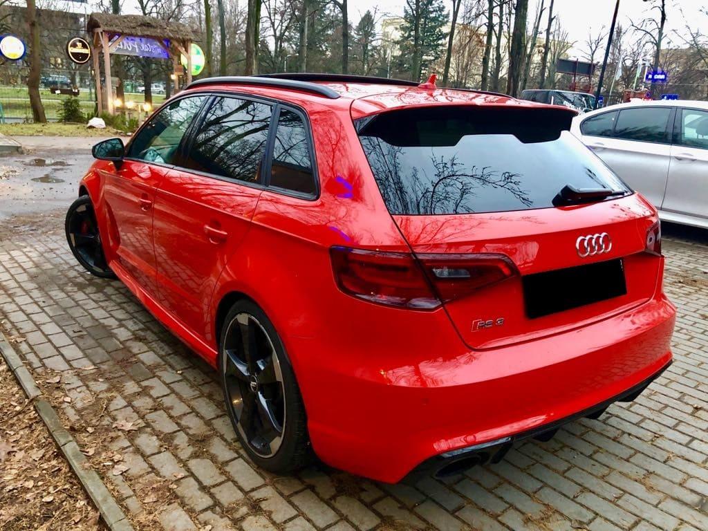 Audi RS3 wynajem samochodów warszawa 4