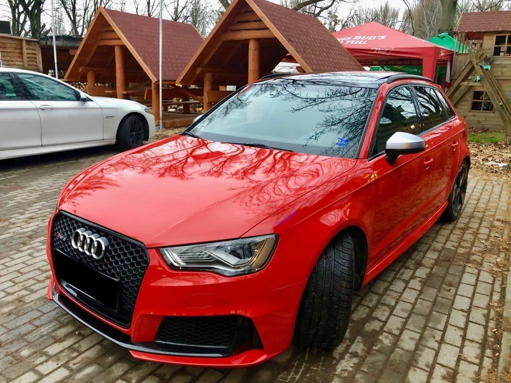 Audi RS3 wynajem samochodów warszawa 5