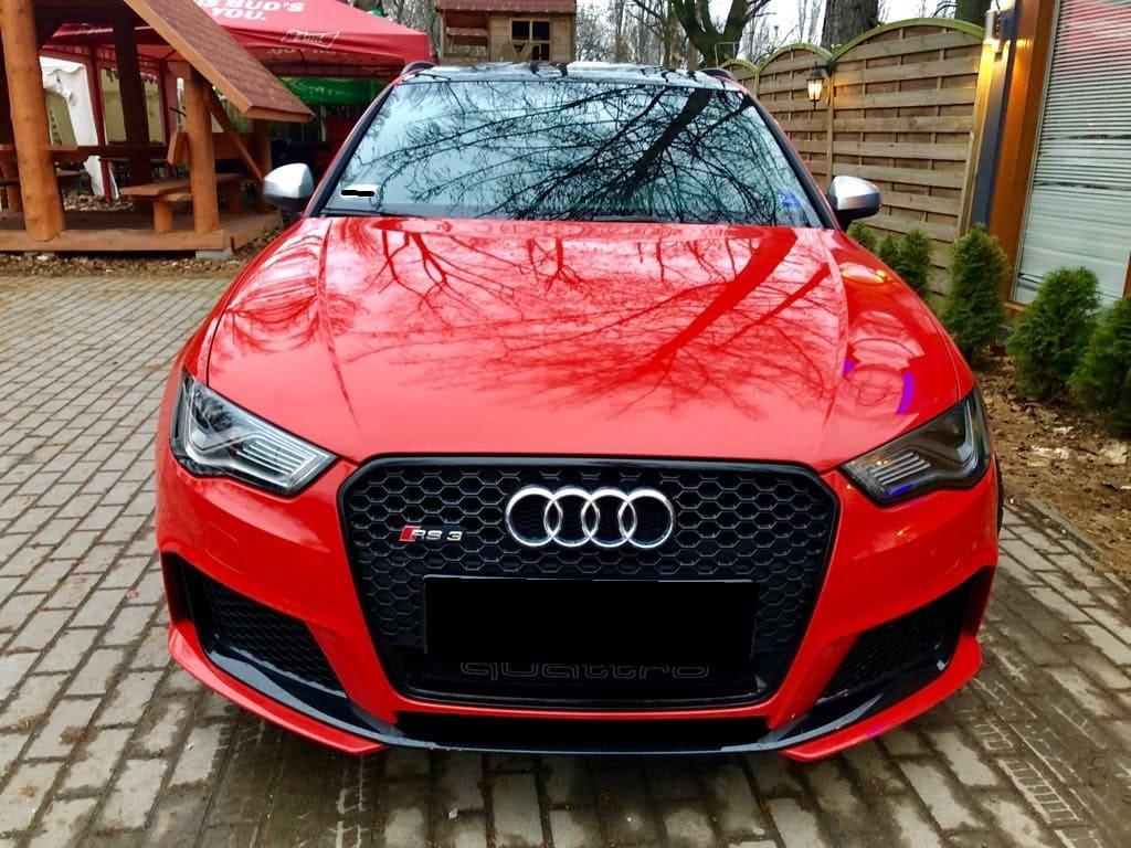 Audi RS3 wynajem samochodów warszawa 6