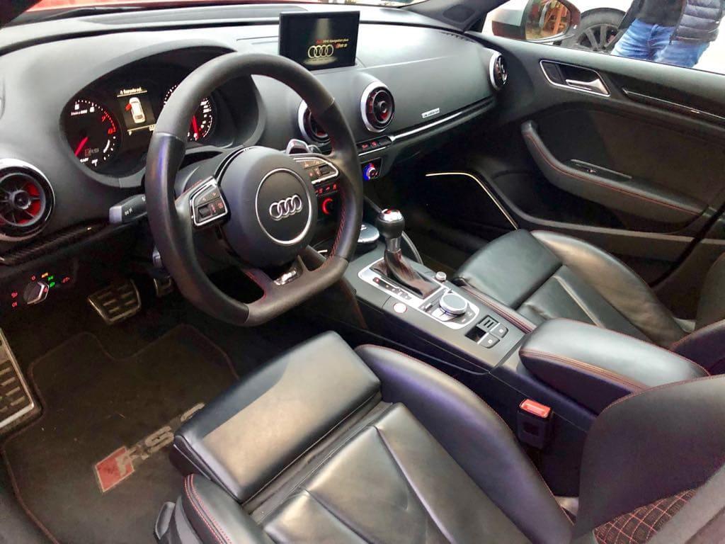 Audi RS3 wynajem samochodów warszawa 9