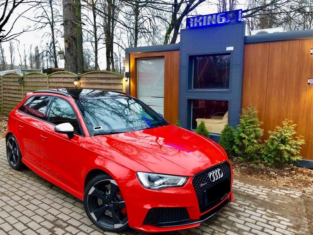 Audi RS3 wynajem samochodów warszawa