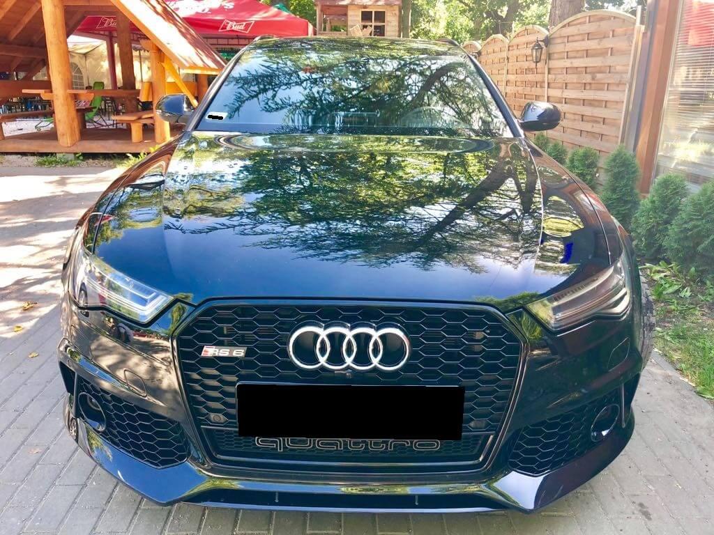 Audi RS6 wynajem samochodów warszawa 4