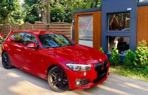 BMW 118i wynajem samochodów warszawa