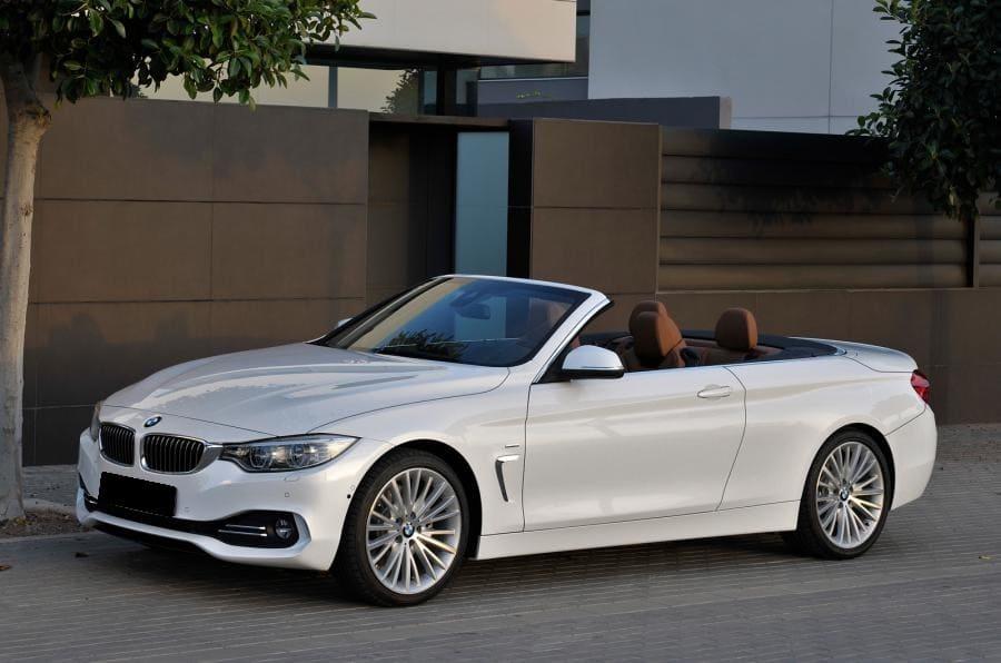 BMW 420 cabrio wynajem samochodów warszawa