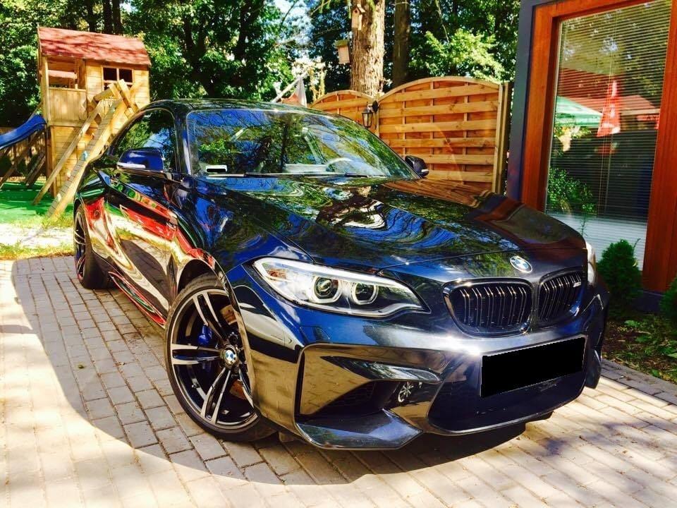 BMW M2 wynajem samochodów warszawa 2