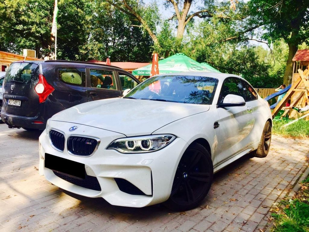 BMW M2 wynajem samochodów warszawa 3