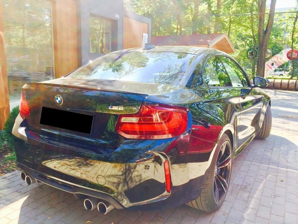 BMW M2 wynajem samochodów warszawa 5