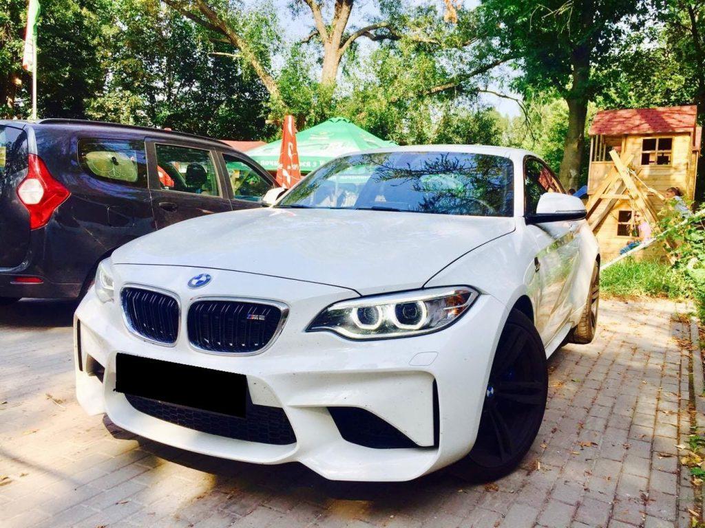 BMW M2 wynajem samochodów warszawa 7