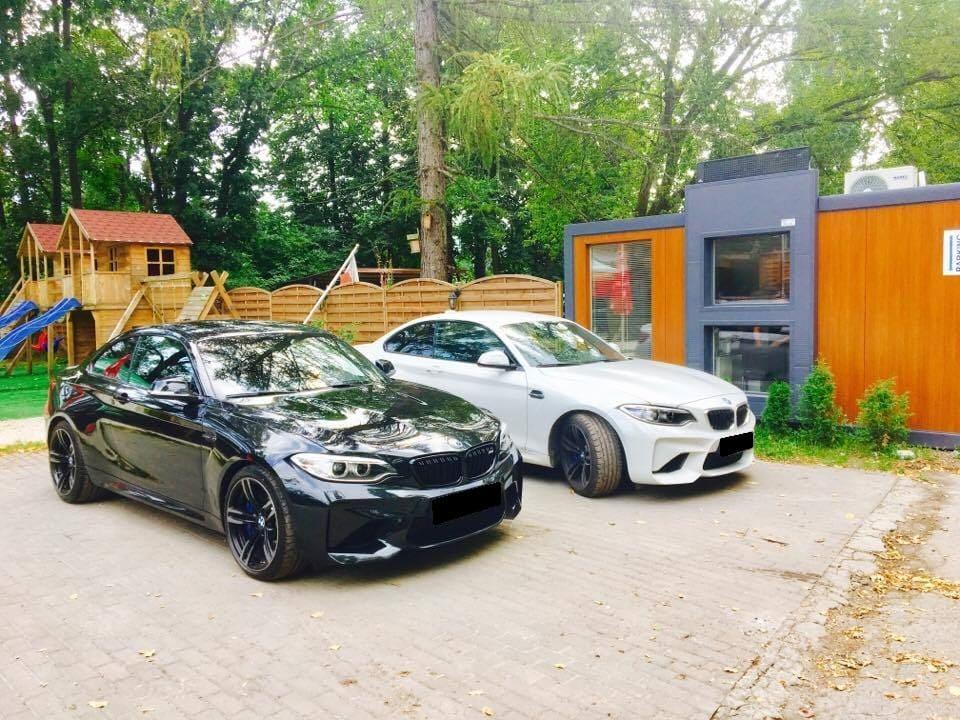 BMW M2 wynajem samochodów warszawa