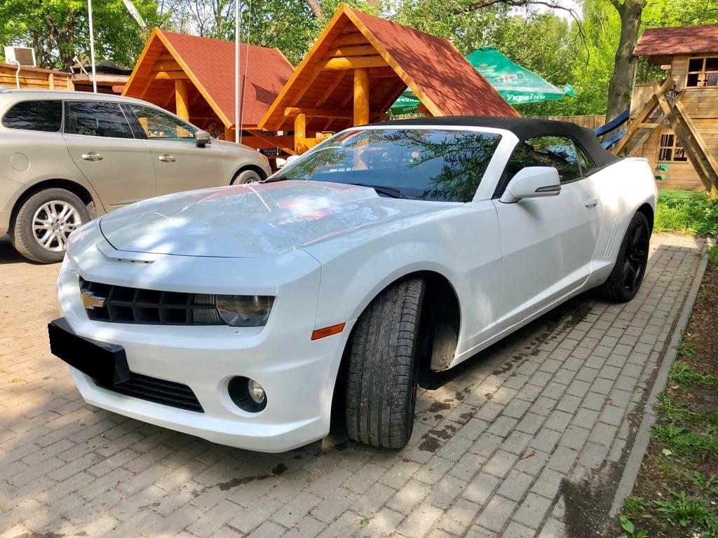 Chevrolet Camaro SS wynajem samochodów warszawa 4
