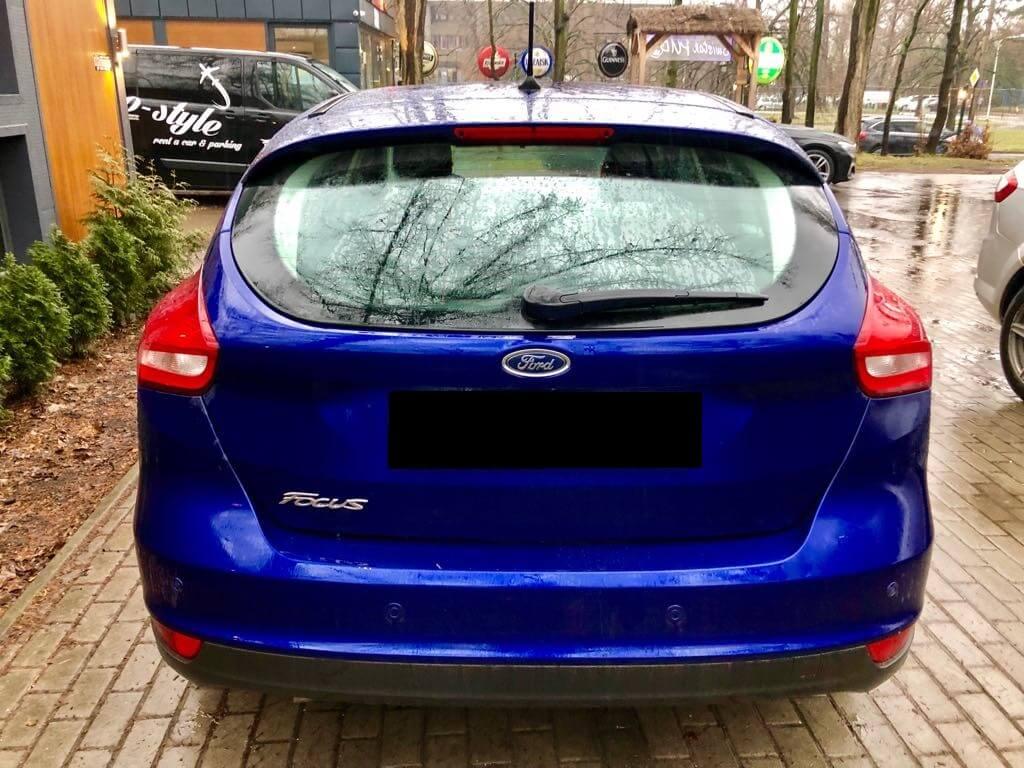 Ford Focus wynajem samochodów warszawa