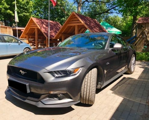 Ford Mustang wynajem samochodów warszawa 6