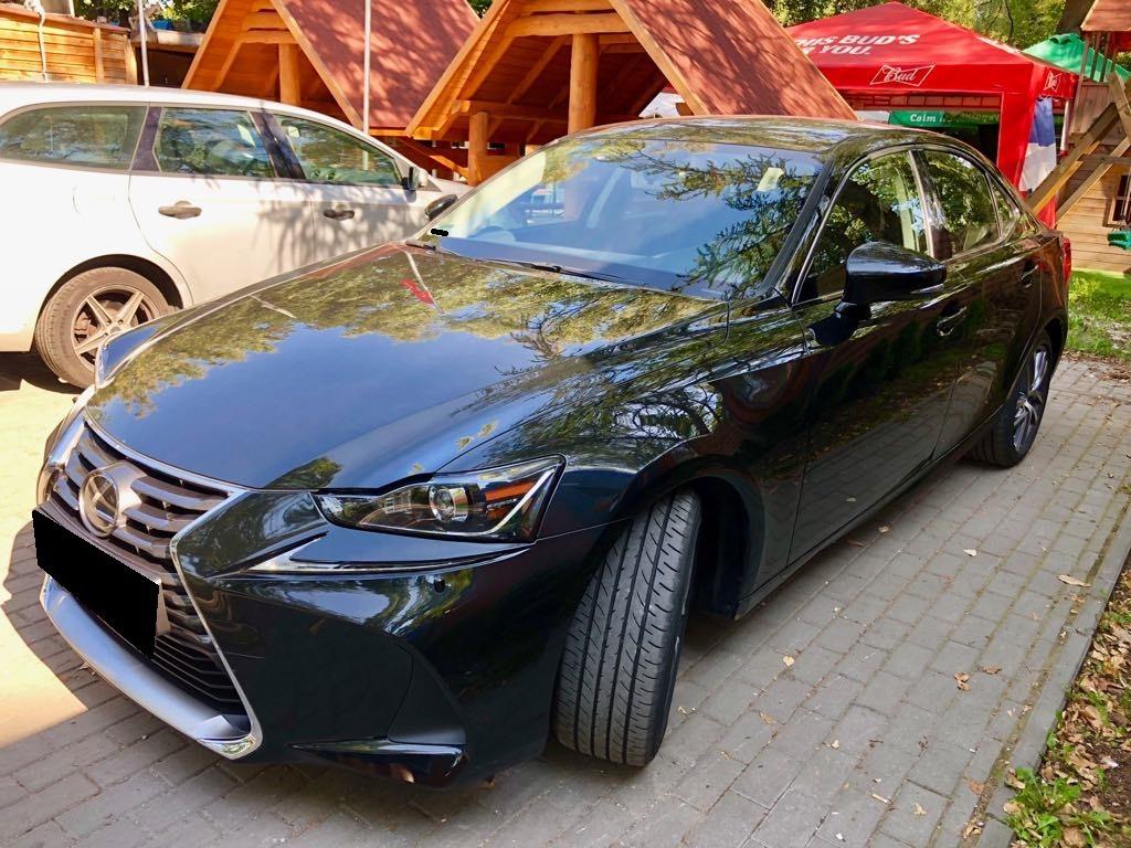 LEXUS IS wynajem samochodów warszawa 6
