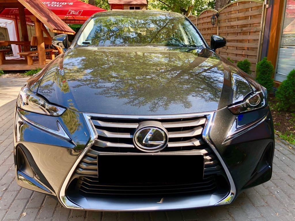 LEXUS IS wynajem samochodów warszawa 7