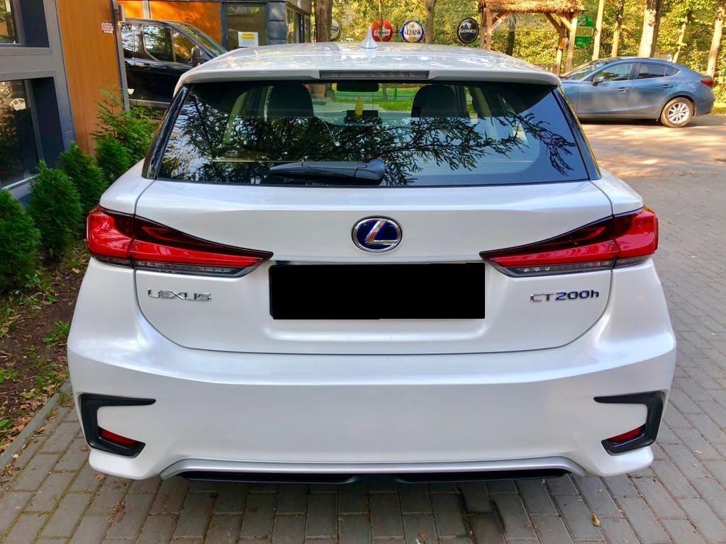 Lexus CT wynajem samochodów warszawa 4
