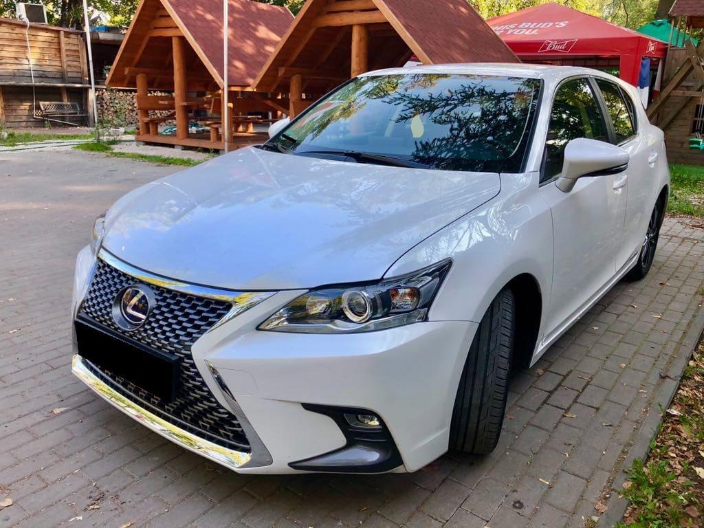 Lexus CT wynajem samochodów warszawa 6