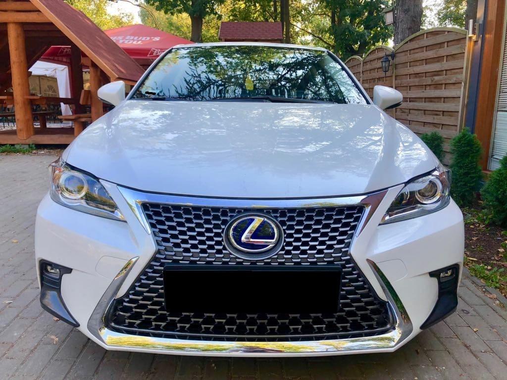 Lexus CT wynajem samochodów warszawa 7