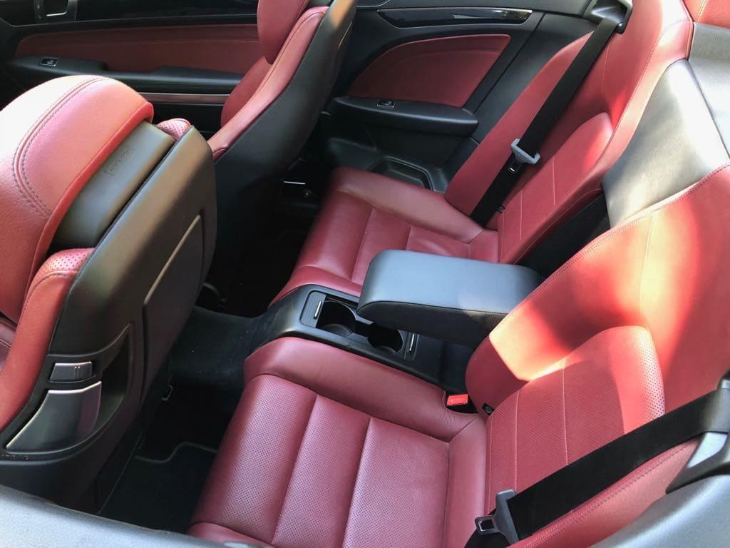 MERCEDES E200 Cabrio wynajem samochodów warszawa 10