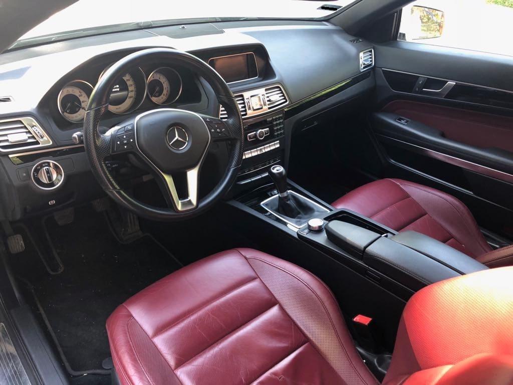 MERCEDES E200 Cabrio wynajem samochodów warszawa 7
