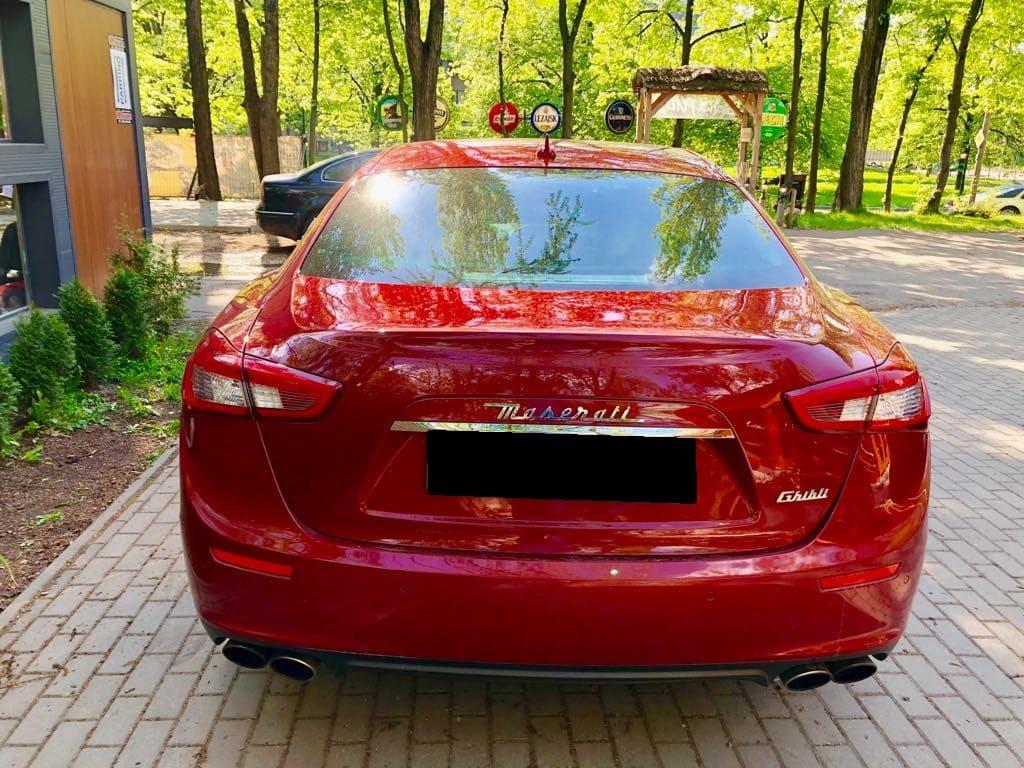 Maserati Ghilbi wynajem samochodów warszawa 3