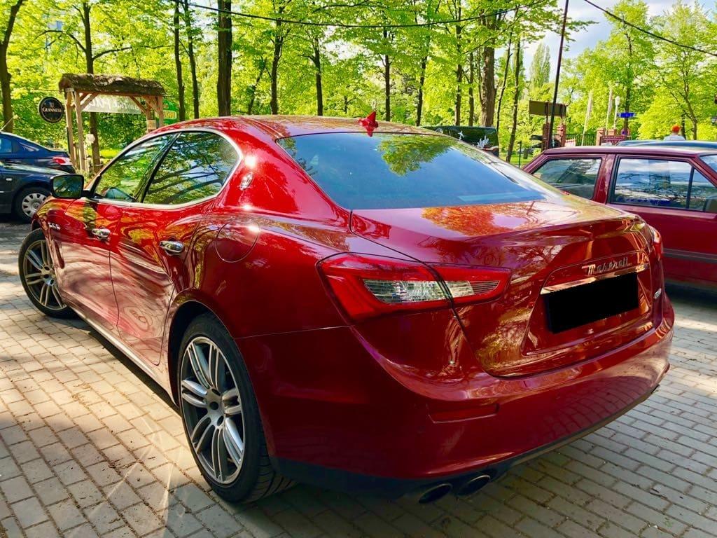 Maserati Ghilbi wynajem samochodów warszawa 4