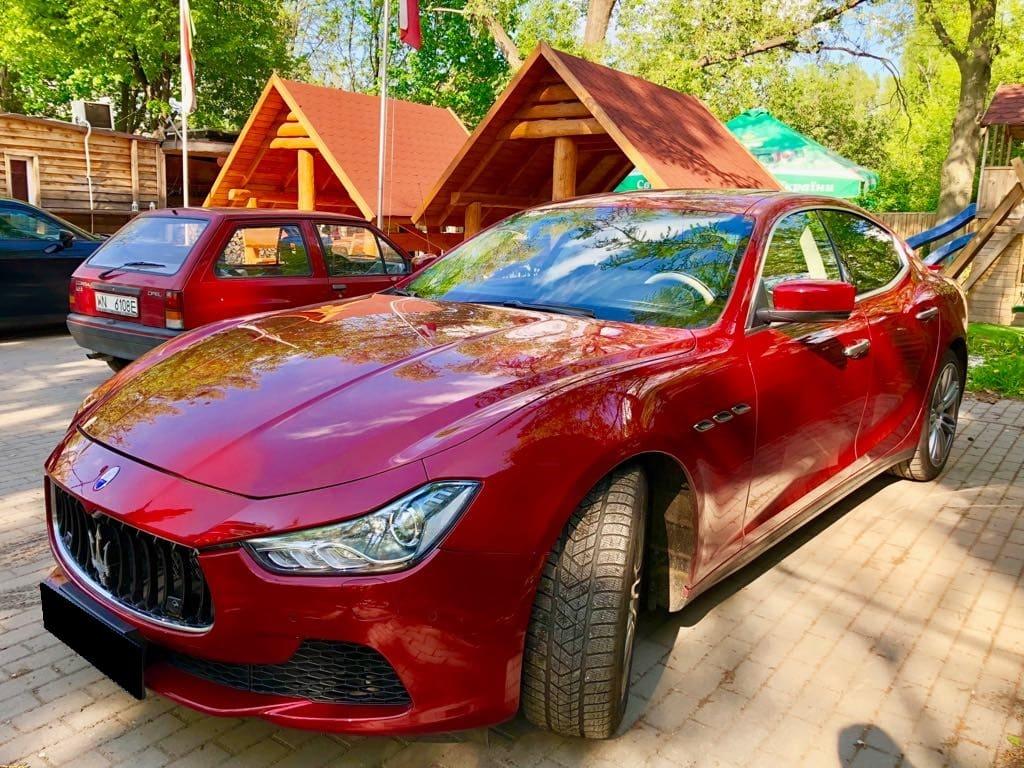 Maserati Ghilbi wynajem samochodów warszawa 5
