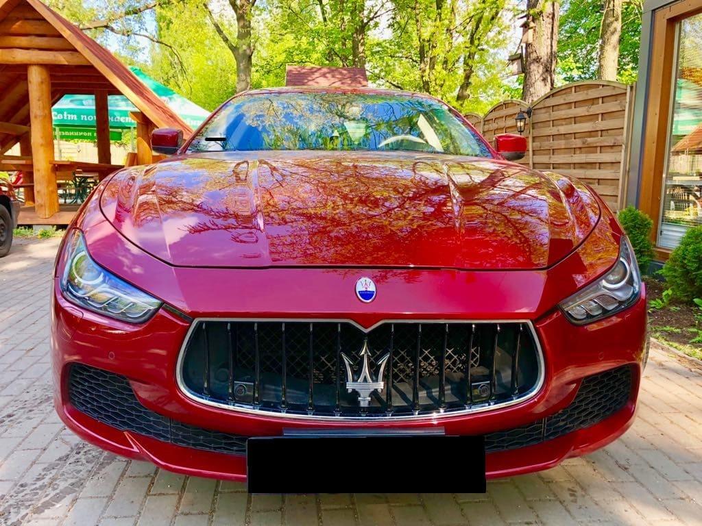Maserati Ghilbi wynajem samochodów warszawa 6
