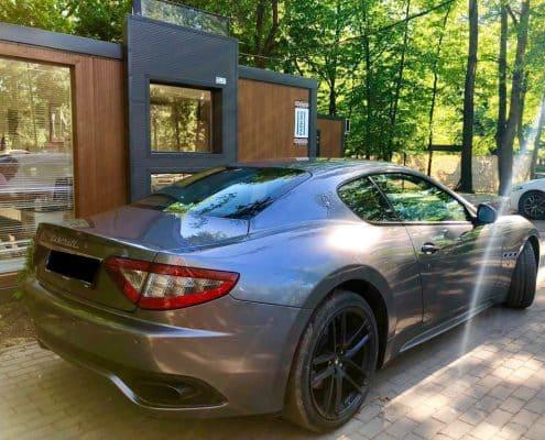 Maserati GranTurismo wynajem samochodów warszawa 2