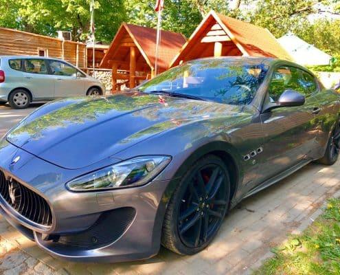 Maserati GranTurismo wynajem samochodów warszawa 5