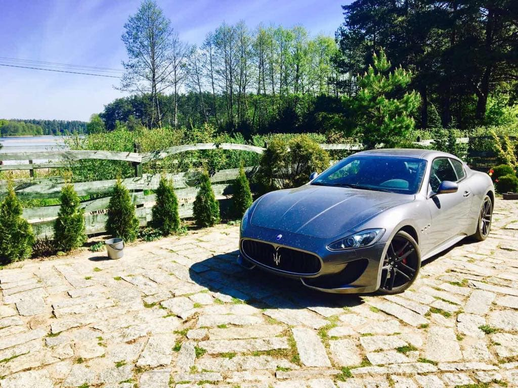Maserati GranTurismo wynajem samochodów warszawa 7