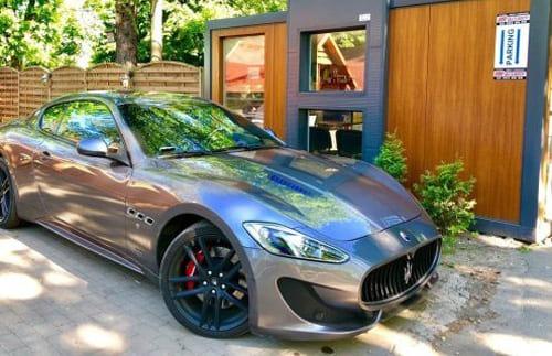 Maserati GranTurismo wynajem samochodów warszawa