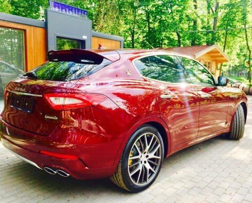 Maserati Levante wynajem samochodów warszawa 2