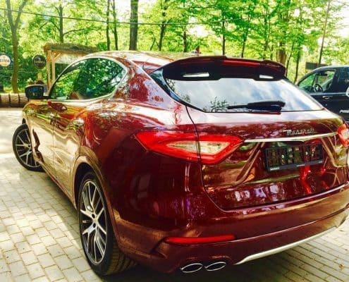 Maserati Levante wynajem samochodów warszawa 3