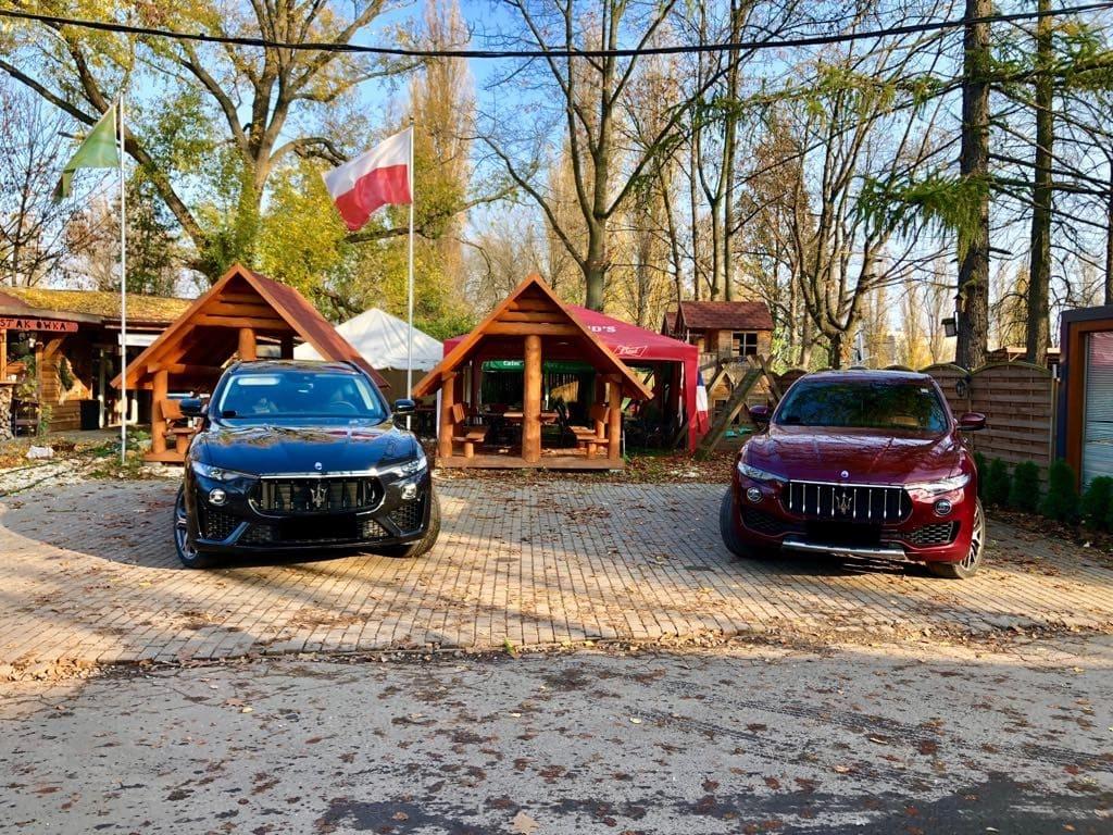 Maserati Levante wynajem samochodów warszawa 4
