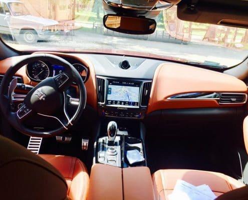 Maserati Levante wynajem samochodów warszawa 8