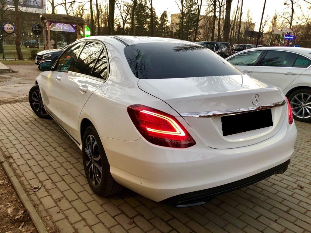 Mercedes C Klasa wynajem samochodów warszawa 10