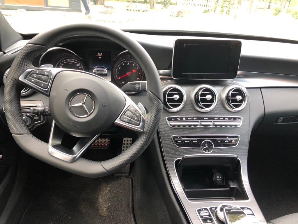 Mercedes C Klasa wynajem samochodów warszawa 13